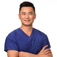 Dr Paul Chen In Scrubs Hi Rez Uncropped